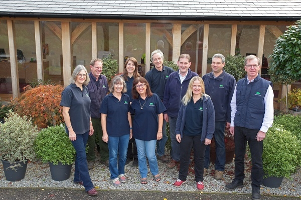 Staff at English Woodlands Nursery
