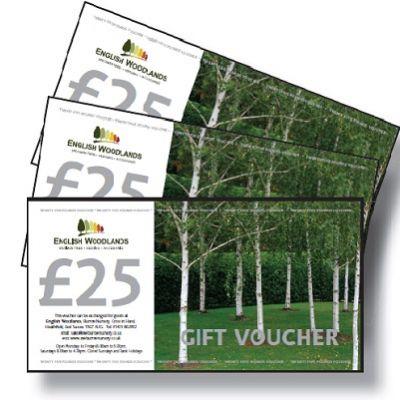 £25 Gift Voucher- English Woodlands Gift Voucher