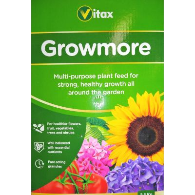 Growmore Fertiliser-2.5kg