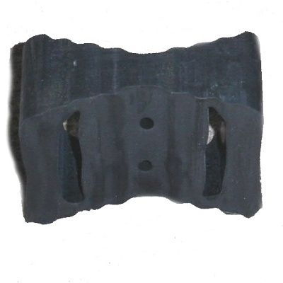 Rubber Block-Curved Back