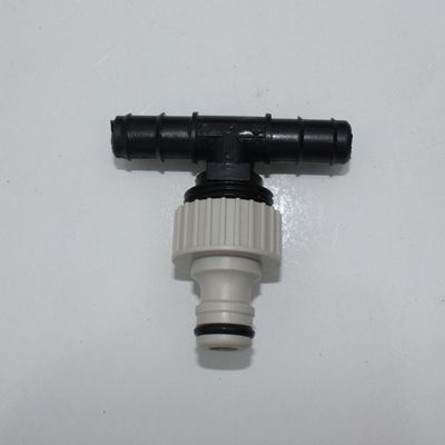 T connector-to 16mm hose