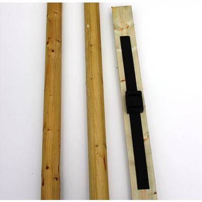 Double Stake package-includes crossbar and tie