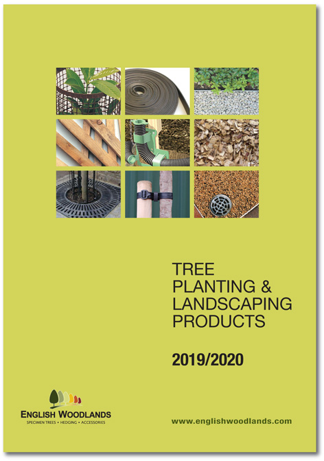 English Woodlands Tree Planting and Landscaping Products 2019/2020